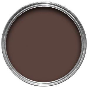 Sandtex Exterior Brown Gloss Wood Metal Paint 750ml
