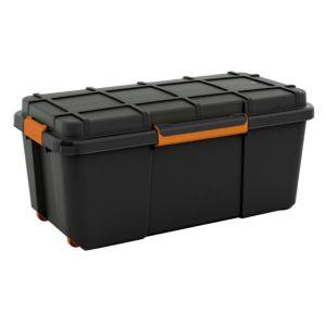 Form Flexi Store Black 74l Plastic Waterproof Storage Box