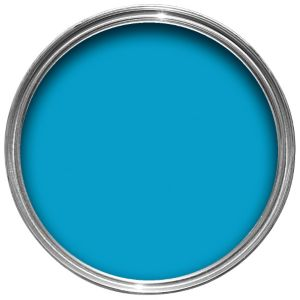Sandtex 10 year exterior bahama blue gloss paint 750ml home and garden sava for Sandtex 10 year exterior gloss