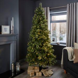 6ft 6In Pemberton Pre-Lit Rotating Christmas Tree | Home ...