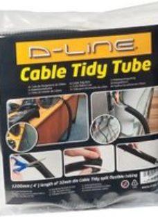 D-Line Black 32mm Cable wrap  (L)1.1m