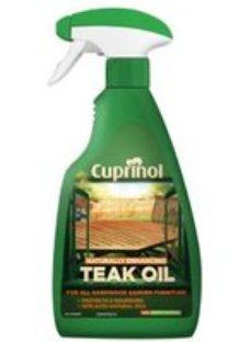 Cuprinol Naturally enhancing Clear Teak Wood oil  0.5L