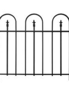 Panacea Triple Arch Traditional Railings  (L)1.22m (H)0.91m (T)20mm