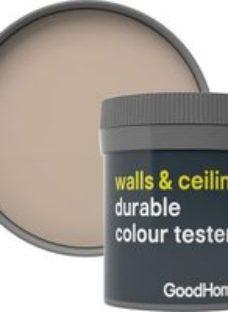 GoodHome Durable Santo domingo Matt Emulsion paint 50ml Tester pot