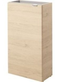 GoodHome Imandra Oak effect Wall-mounted Vanity Cabinet (W)440mm (H)790mm