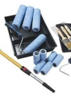 "Harris Trade 9"" Micropoly Roller set  Pack of 18"