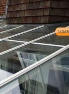 AXGARD Clear Polycarbonate Flat Glazing sheet  (L)3.05m (W)1m (T)3mm
