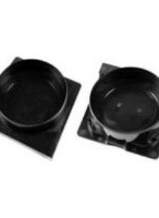 Clark Polypropylene Outlet endcap pair  Pair of 2