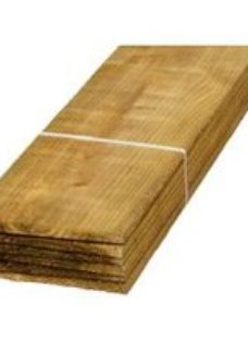 Feather edge Fence panel (W)150mm (T)11mm  Pack of 12