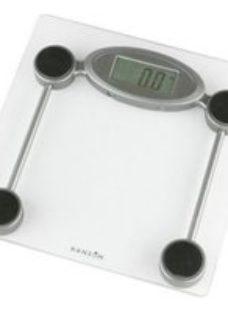 Hanson Silver Electronic Bathroom scales