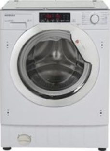 Hoover HBWMO 96TAHC-80 White Built-in Washing machine  9kg