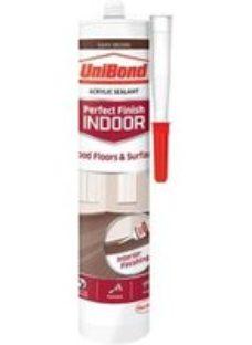 UniBond Perfect finish Dark brown Floor Sealant  300ml