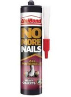 UniBond No More Nails Solvent-free White Grab adhesive 440ml