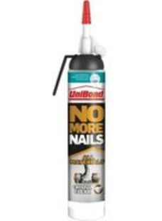 UniBond No More Nails Solvent-free Clear Grab adhesive 210ml