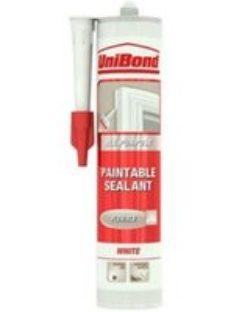 UniBond Paintable White Acrylic-based General-purpose Sealant  300ml