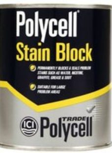 Polycell Stain block paint