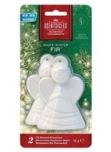 White & green Angel Decoration  Pack of 2