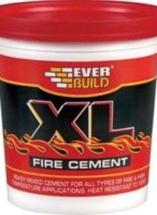 Everbuild XL Ready mixed Fire cement  2kg Tub
