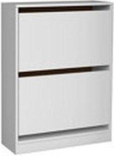 Form Darwin White Shoe rack (H)951mm (W)750mm