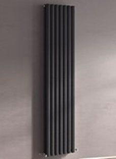 Ximax Champion Vertical Designer Radiator  Anthracite (W)526mm (H)1800mm