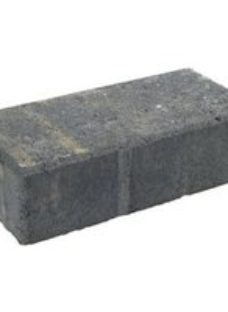 Driveway Charcoal Block paving (L)200mm (W)100mm