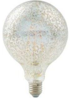 Diall E27 6W 470lm Globe Warm white LED Filament Light bulb