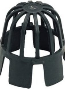FloPlast Black Round Gutter guard (Dia)68mm