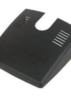 FloPlast Black Gutter guard (L)305mm