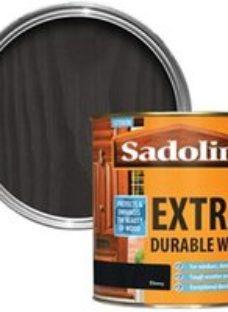 Sadolin Ebony Conservatories  doors & windows Wood stain  1