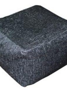Primeur Elite Plain Bean bag cube  Black
