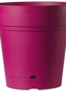 Nurgul Pink Plastic Round Plant pot (Dia)58cm