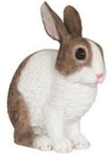 Crouching rabbit Garden ornament