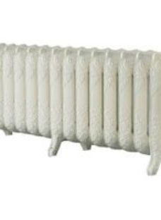 Arroll Montmartre 3 Column Radiator  Cream (W)1234mm (H)470mm