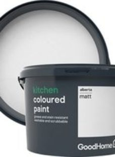 GoodHome Kitchen Alberta Matt Emulsion paint  2.5L