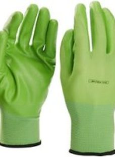 Verve Nylon Green Gardening gloves  Large
