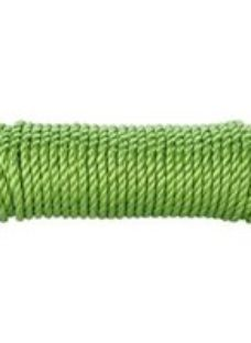 Diall Green Polypropylene Twisted rope  (L)4.5m (Dia)8mm