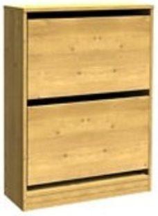 Form Darwin Oak effect Shoe rack (H)951mm (W)750mm