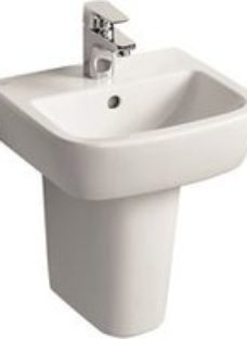 Ideal Standard Tempo D-shaped Freestanding Cloakroom Basin (W)40cm