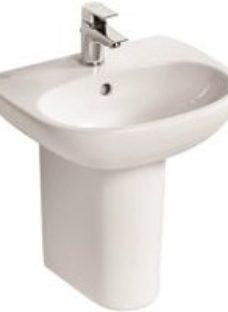 Ideal Standard Tesi D-shaped Freestanding Cloakroom Basin (W)45cm