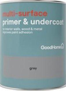 GoodHome Grey Multi-surface Primer & undercoat  750ml