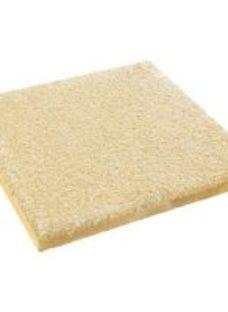 Textured Buff Paving slab (L)450mm (W)450mm