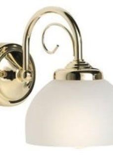 Grantchester Brass effect Wall light