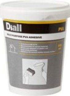 Diall White Multi-purpose PVA adhesive 500ml