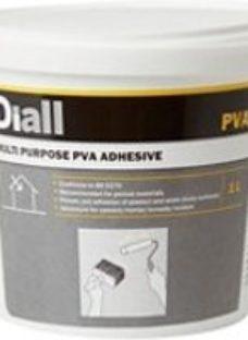 Diall White Multi-purpose PVA adhesive 1L