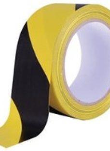Diall Black & yellow Tape (L)33m (W)50mm