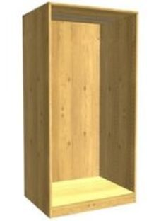 Form Darwin Modular Oak effect Large Chest cabinet (H)1506mm (W)750mm (D)566mm