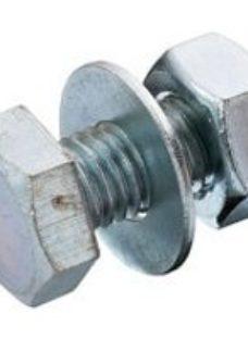 SKIP19B HEX BOLT ZINC PLATED 10PC M10X25