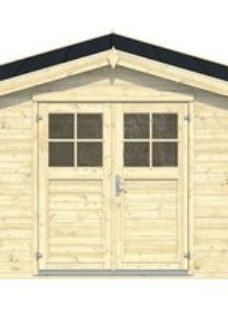 Blooma Belaïa 9x7 Apex Tongue & groove Wooden Shed
