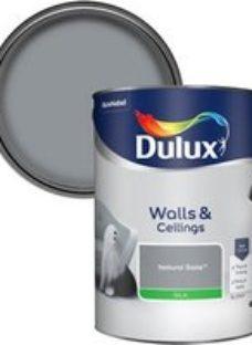 Dulux Natural slate Silk Emulsion paint  5L