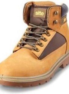 Site Quartz Men's Honey Safety boots  Size 9